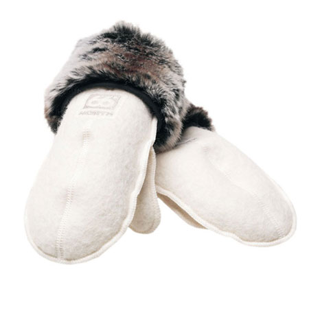 66 Degrees North Kaldi Mittens (Off-white)