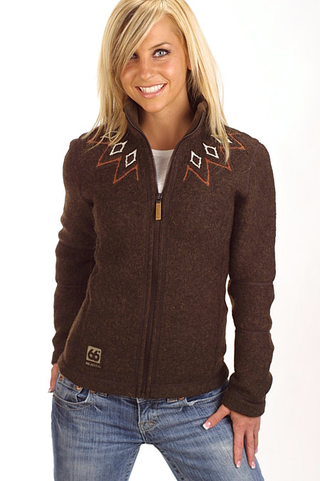 66 Degrees North Kaldi Sweater Women's (Brown)