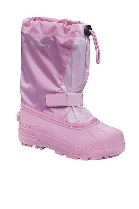 Columbia Sportswear Powderbug Boots Baby's (Luscious / Deco Pink