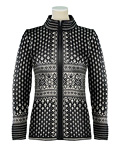 Dale of Norway Bessbu Wool Sweater Women's (Black / Off-white)