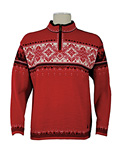Dale of Norway Blyfjell Sweater Men's (Raspberry / Black / Off White)