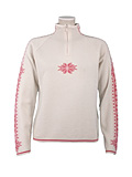 Dale of Norway Slaata Sweater Women's (Off-white / Azalea Pink)