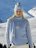 Dale of Norway Slaata Sweater Women's (Glacier / Off-white)