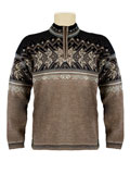 Dale of Norway Vail US Ski and Snowboard Team Sweater (Mountainstone / Smoke / Black)