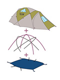 Mountain Hardwear Drifter 2 Tent Footprint PL