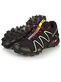 Salomon Speedcross 3 Trail Racing Shoe Men's (Black / Black / Silver Metallic)