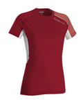 Salomon Trail Runner II SS Tech Tee Women's (Cherry-X / Pale Cherry)
