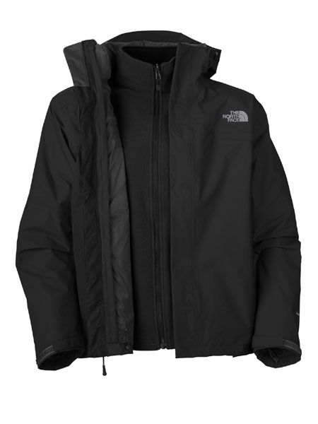 The North Face Bantum Fleece Triclimate Jacket  Men's (TNF Black