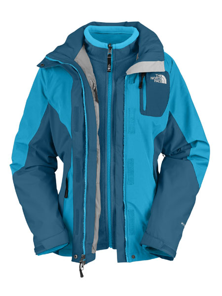 The North Face Atlas Triclimate Jacket Women's (Acoustic Blue)