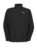 The North Face TKA 100 Microvelour Glacier 1/4 Zip Men's (Black)