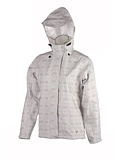 White Sierra Trabagon Plaid Printed Rain Jacket Women's